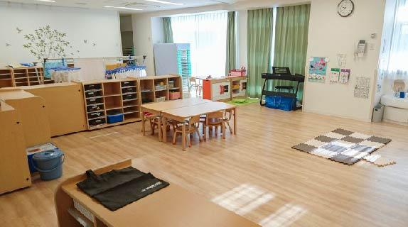 4〜5歳児保育室